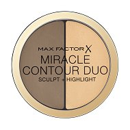 "Max Factor Miracle Contour Duo Sculpt + Highlight - Дуо палитра за контуриране на лице от серията ""Miracle"" -"