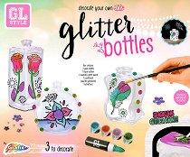 Декорирай сам стъклени бутилки - Творчески комплект -