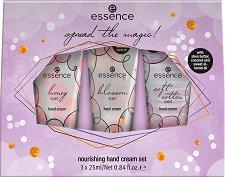 Подаръчен комплект - Essence Spread The Magic - Подхранващи кремове за ръце - продукт