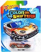 """Trak-Tune - Метална количка от серията """"Hot Wheels: Colour Shifters"""" - играчка"""