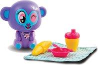"""Маймунката Лулу - Интерактивна играчка от серията """"Lumiluvs: Светещи животни"""" -"""