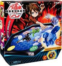 Bakugan Battle Planet - Battle Arena - Бойна арена комплект с 1 топче за игра - играчка