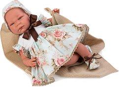 Кукла бебе Инес : Лимитирана серия - Комплект с одеяло и пелена -