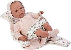 Кукла бебе Жулиета : Лимитирана серия - Комплект с одеяло и пелена -