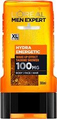 L'Oreal Men Expert Hydra Energetic 3 in 1 Taurine Shower - продукт