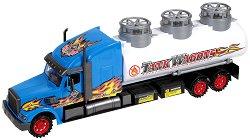 Камион - Tank Wagons - Детска играчка с маховик -