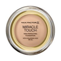 "Max Factor Miracle Touch Skin Perfecting Foundation - SPF 30 - Фон дьо тен с високо покритие от серията ""Miracle"" - крем"
