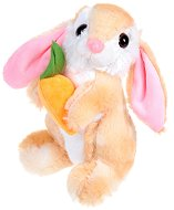 Зайче с морковче - играчка