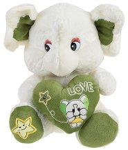 Слонче - Плюшена играчка -