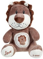 Лъвче - Love You - Плюшена играчка -