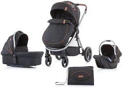 Бебешка количка 3 в 1 - Prema 2020 - С 4 колела -