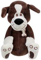 Кученце с шалче - Плюшена играчка -