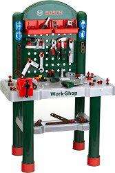 """Детска работилница с инструменти - Bosch - Комплект играчки от серията """"Bosch-mini"""" - играчка"""