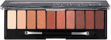 Flormar Eye Shadow Palette Sunset - Палитра с 10 цвята сенки за очи -