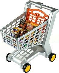 Пазарска количка - В комплект с продукти -