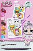Оцветявай с акварелни бои - L.O.L Surprise - творчески комплект