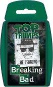 """Breaking Bad - Игра с карти от серията """"Top Trumps: Play and Discover"""" -"""