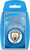 """FC Manchester City - Игра с карти от серията """"Top Trumps: Play and Discover"""" -"""