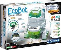 """Робот - EcoBot - Образователен комплект от серията """"Clementoni: Science"""" -"""