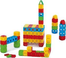 Детски конструктор с вафлени блокчета -
