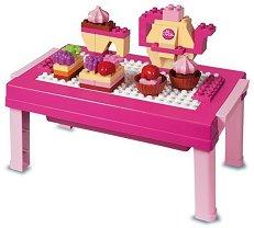 Маса с десерти - Детски конструктор - играчка