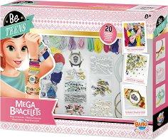 """Направи сама - Разноцветни гривни - Творчески комплект от серията """"Be Teens"""" - продукт"""