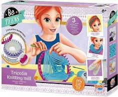 """Научи се да плетеш - Творчески комплект от серията """"Be Teens"""" - творчески комплект"""