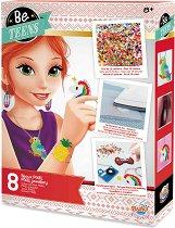 """Направи сама - Разноцветни бижута и аксесоари - Творчески комплект от серията """"Be Teens"""" -"""