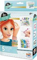 """Направи сама - Извити гривни - Творчески комплект от серията """"Be Teens"""" - творчески комплект"""