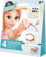 """Направи сама - Разноцветни гривни - Творчески комплект от серията """"Be Teens"""" - творчески комплект"""