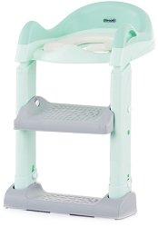 Детски тоалетен адаптер със стълба - Tippy -