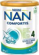 Висококачествена обогатена млечна напитка за малки деца - Nestle NAN Comfortis 4 - продукт