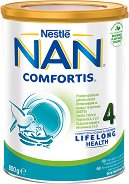 Висококачествена обогатена млечна напитка за малки деца - Nestle NAN Comfortis 4 - Метална кутия от 800 g за след 2 години - пюре