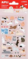 Самозалепващи стикери - Кучета - Комплект от 50 броя