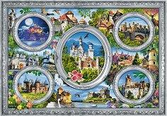 """Замъци - Пъзел от колекцията """"Premium Quality"""" - пъзел"""