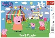 """Увеселителен парк - Пъзел с едри елементи от серията """"Peppa Pig"""" - пъзел"""