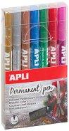 Перманентни маркери - Комплект от 7 цвята