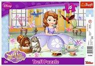 Чаеното парти на принцеса София - пъзел