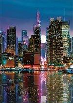 """Пълнолуние в Манхатън - Пъзел от колекцията """"Premium Quality"""" -"""