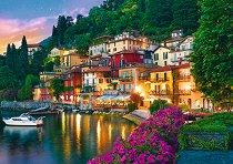"""Езерото Комо, Италия - Пъзел от колекцията """"Premium Quality"""" -"""