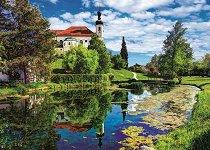 """Езерото Кимзе, Бавария - Пъзел от колекцията """"Premium Quality"""" -"""