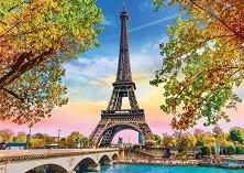 """Романтичен Париж - Пъзел от колекцията """"Premium Quality""""  -"""