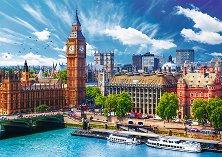 """Слънчев ден в Лондон - Пъзел от колекцията """"Premium Quality"""" -"""