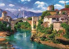 """Мостар, Босна - Пъзел от колекцията """"Premium Quality"""" -"""