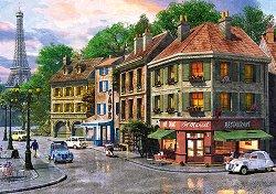 """Улица в Париж - Пъзел от колекцията """"Premium Quality"""" - пъзел"""