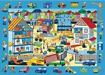 """Строителна площадка - Детски образователен пъзел от колекцията """"Observation Puzzle"""" - пъзел"""