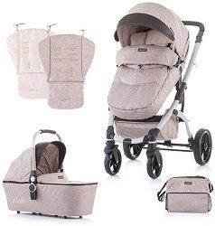 Бебешка количка 2 в 1 - Malta 2020 - С 4 колела -