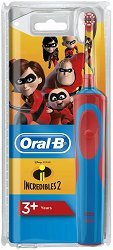 Oral-B Vitality Kids Disney Incredibles 2 Electric Toothbrush - Детска електрическа четка за зъби -