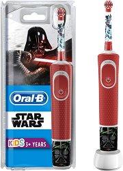 """Oral-B Vitality Kids Disney Star Wars Electric Toothbrush - Детска електрическа четка за зъби от серията """"Star Wars"""" -"""