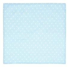 Бебешка памучна пелена - Точки - С размери 80 x 80 cm -